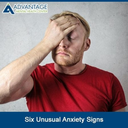 Six Unusual Anxiety Signs